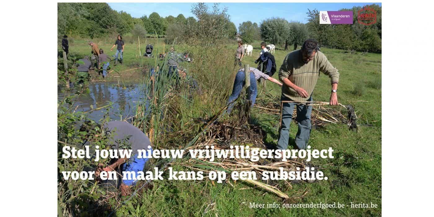 Stichting Monumentenstrijd geeft subsidies voor vrijwilligersprojecten