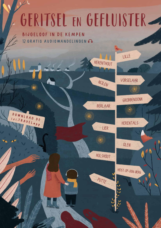 Geritsel en Gefluister: gratis audiowandelingen met volksverhalen